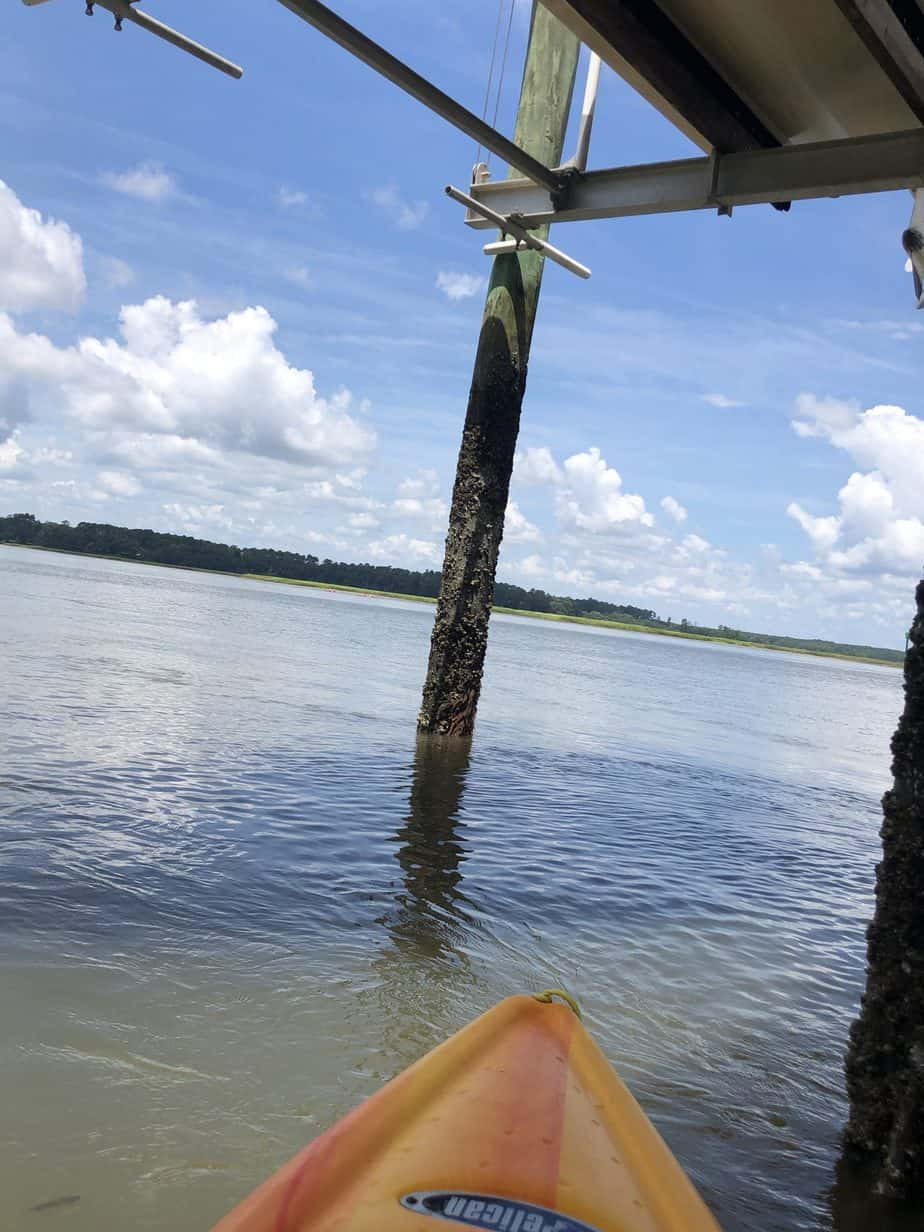 Kayaking On the May River, Bluffton, South Carolina