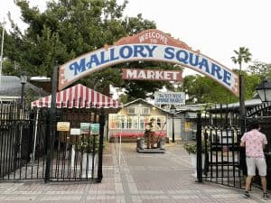 Mallory Square in Key West Florida