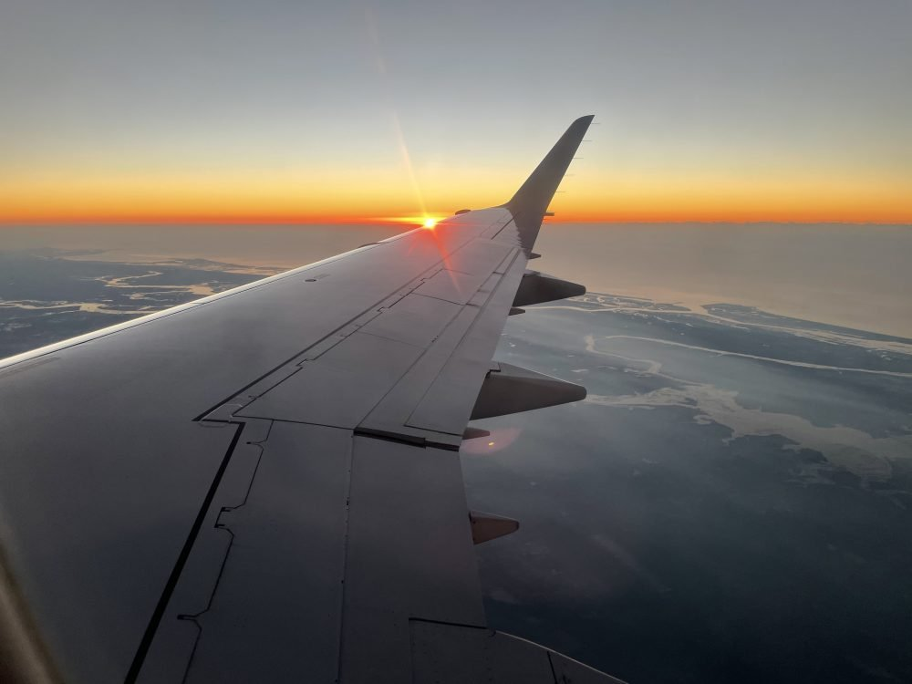 Flying Above the Friendly Skies