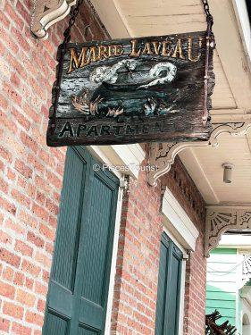 Marie Laveau Apartment in New Orleans