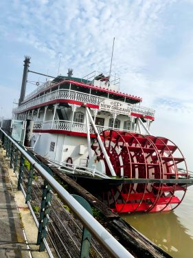 Steamboat in New Orleans