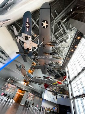 Aircraft at the WWII National Museum, New Orleans