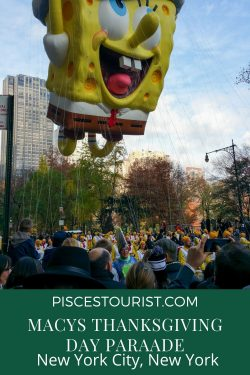 Enjoy 1 Day at the Macy's Thanksgiving Day Parade in New York