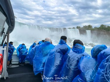 Maid of the Mist Ride in Niagara Falls USA
