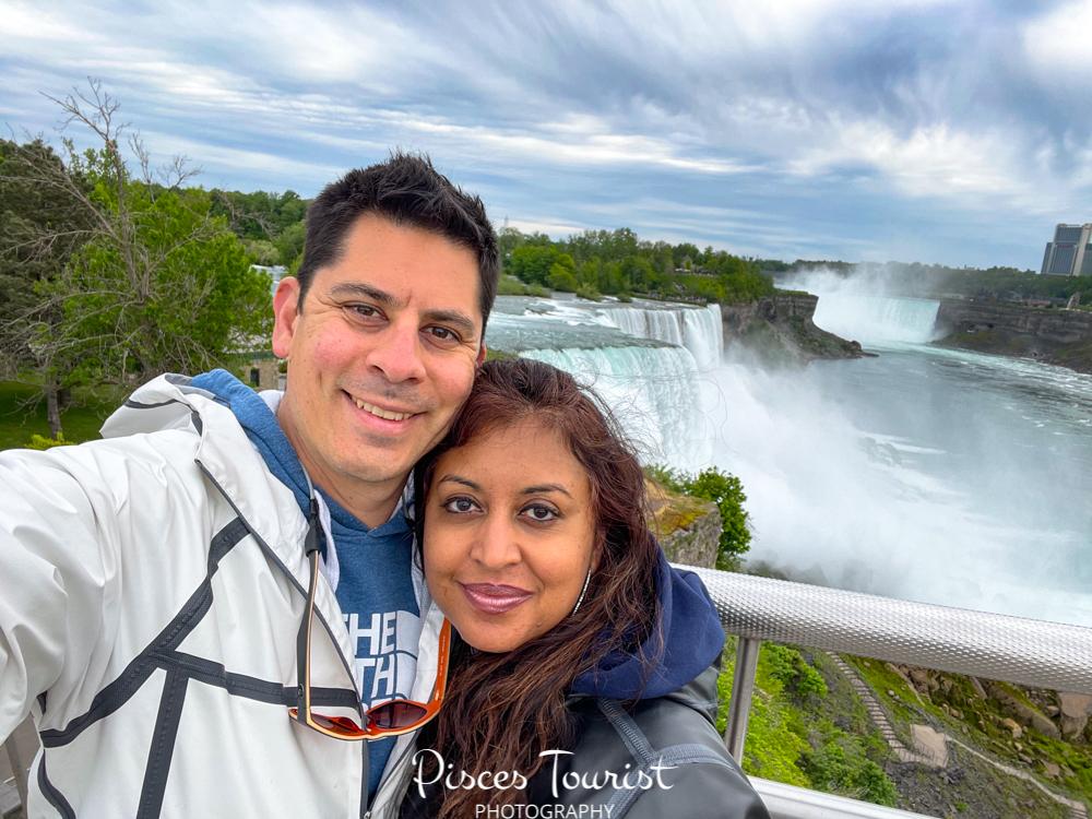 Pisces Tourist at Niagara Falls